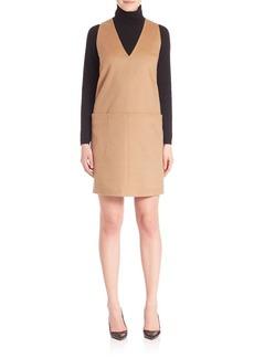 Max Mara Vicky Sleeveless Camel Pocket Dress
