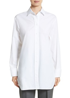 Max Mara Visivo Cotton Poplin Shirt