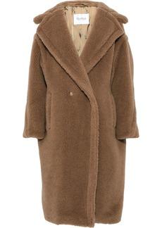 Max Mara Woman Aurelia Camel Hair And Silk-blend Coat Camel