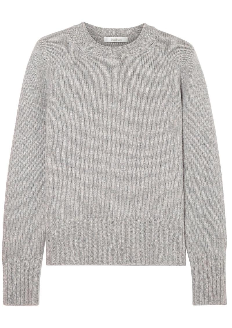 Max Mara Woman Cashmere Sweater Gray