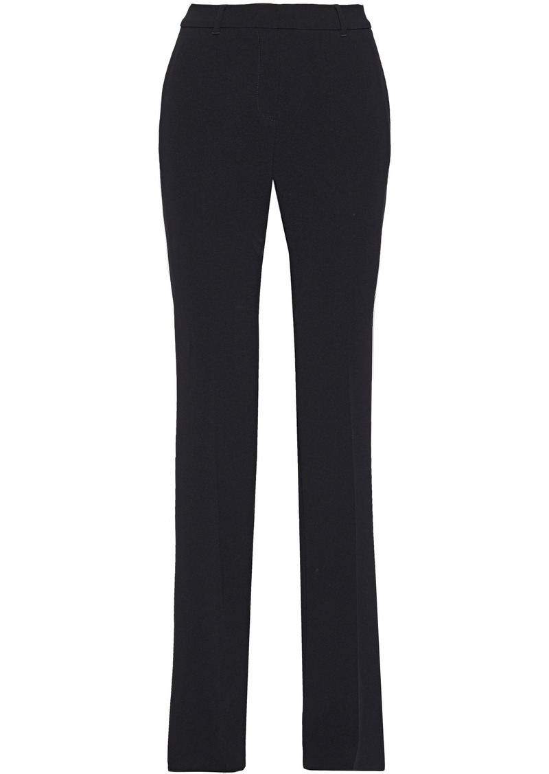 Max Mara Woman Crepe Straight-leg Pants Black