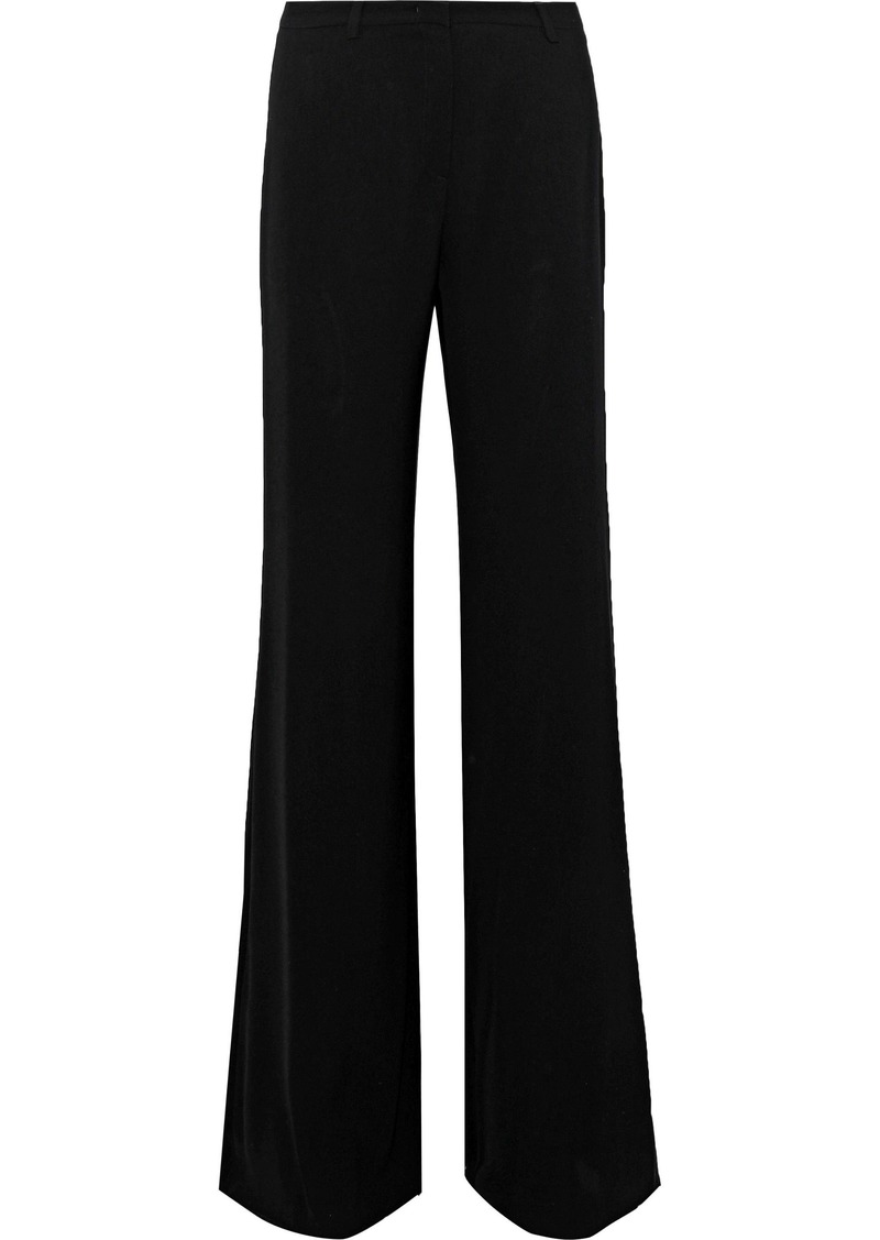Max Mara Woman Macao Crepe Wide-leg Pants Black