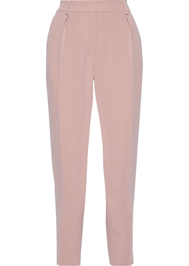 Max Mara Woman Cropped Cady Tapered Pants Antique Rose