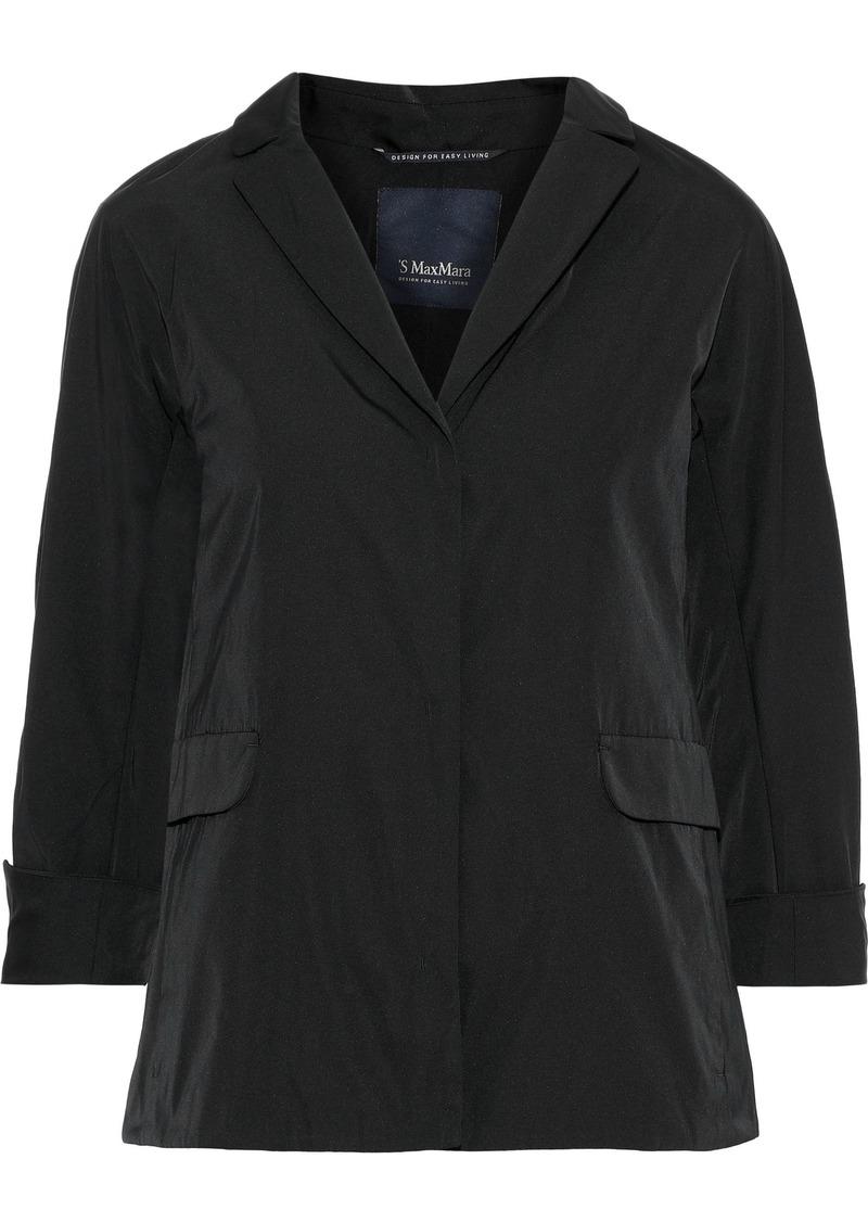 Max Mara Woman Eliot Shell Jacket Black