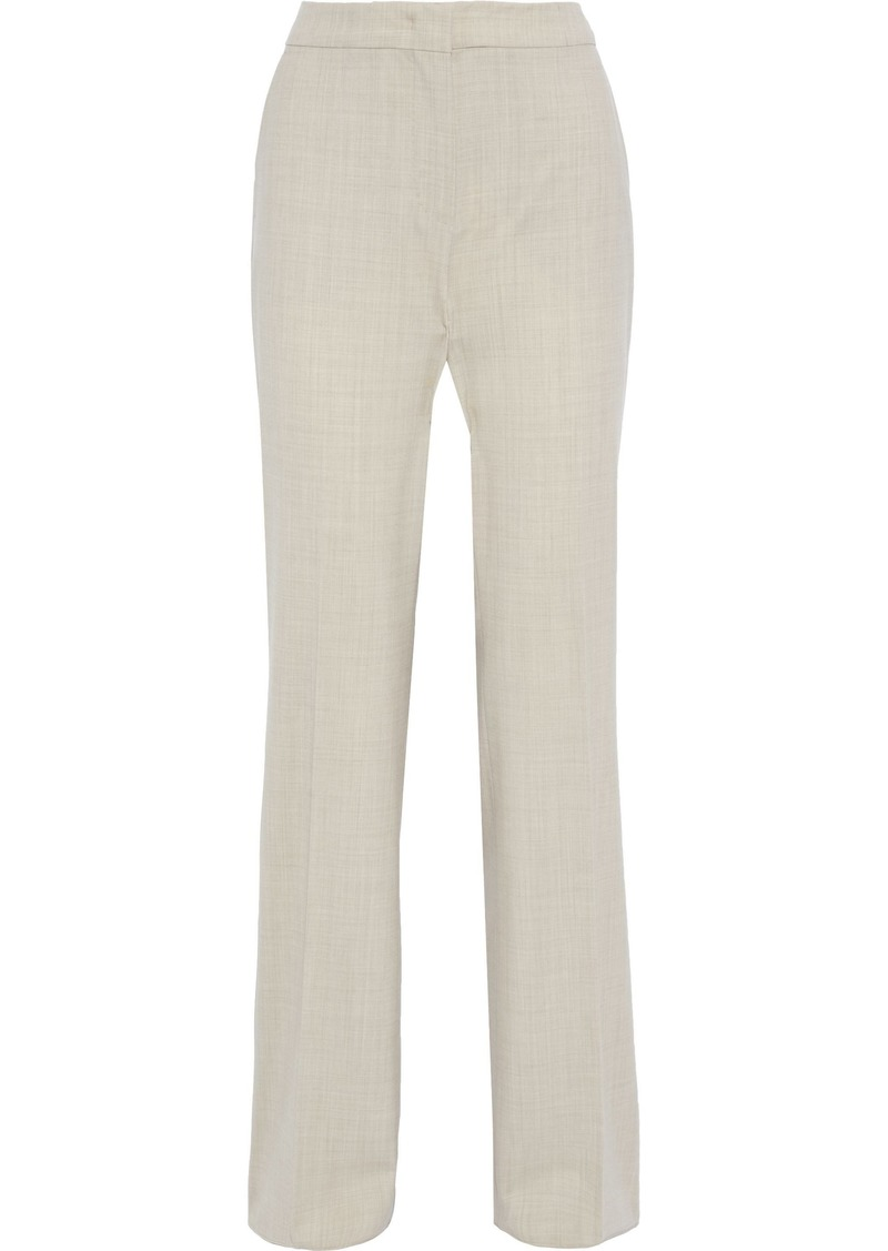 Max Mara Woman Galilea Stretch-wool Bootcut Pants Ecru