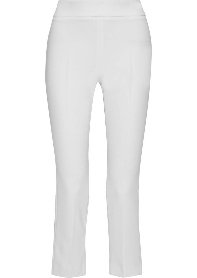 Max Mara Woman Gelly Cropped Cady Slim-leg Pants White
