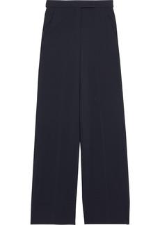 Max Mara Woman Jersey Wide-leg Pants Midnight Blue