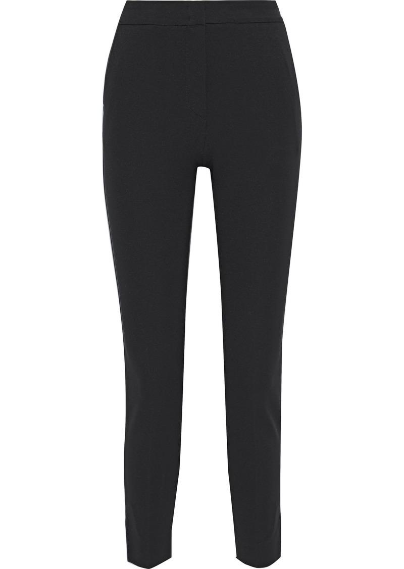 Max Mara Woman Lembo Stretch-jersey Skinny Pants Black
