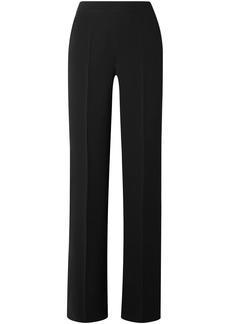 Max Mara Woman Luglio Cady Wide-leg Pants Black