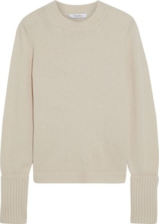 Max Mara Woman Matteo Wool And Cashmere-blend Sweater Cream