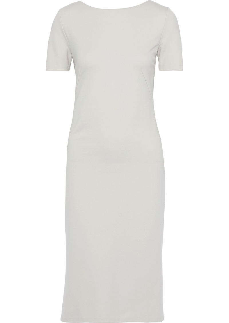 Max Mara Woman Ponte Dress Neutral