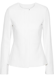 Max Mara Woman Stresa Wool-blend Jacket White