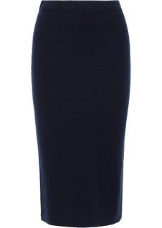 Max Mara Woman Tubinga Wool-blend Pencil Skirt Navy