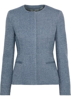Max Mara Woman Wool And Cashmere Blend Jacket Light Blue
