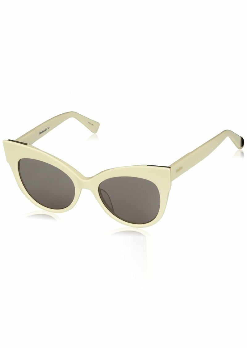 Max Mara Women's Mm Anita Polarized Cateye Sunglasses IVORY