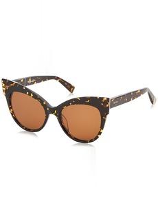 Max Mara Women's Mm Anita Sunglasses Dark HAVANA