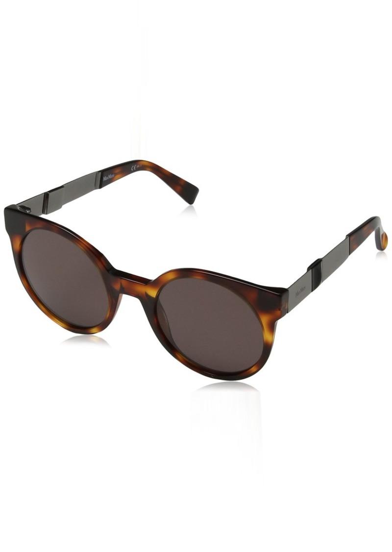 Max Mara Women's Mm Cosy Oval Sunglasses BLACK 56 mm