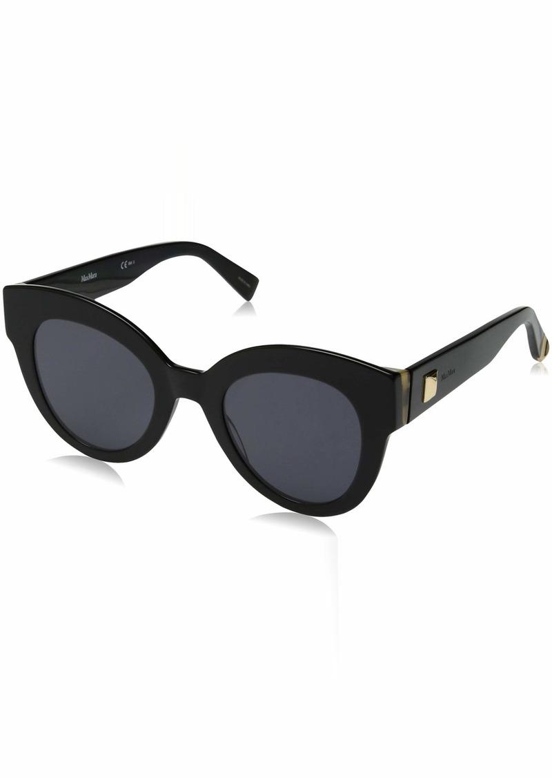Max Mara Women's Mm Flat I Round Sunglasses