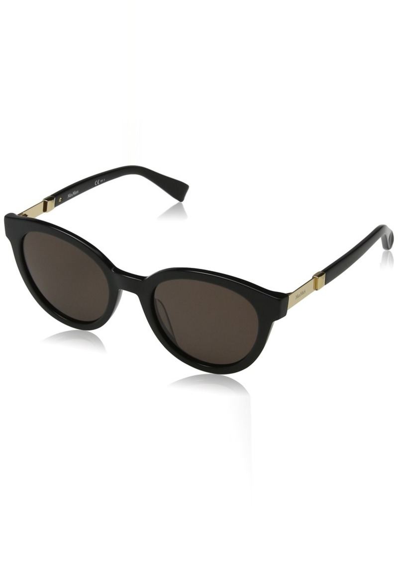 Max Mara Women's Mm Gemini Ii Oval Sunglasses  52 mm