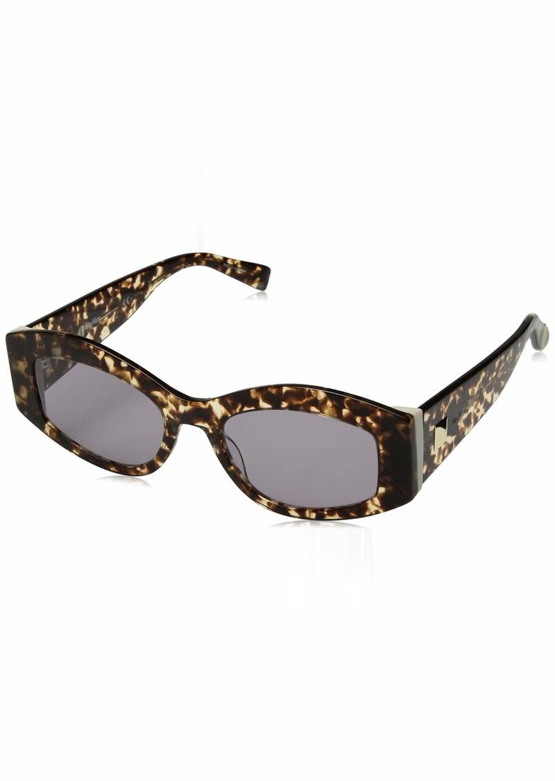 Max Mara Women's Mm Iris Rectangular Sunglasses