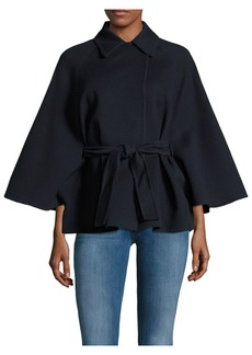 Max Mara Wool Button-Front Jacket