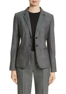 Max Mara Zac Stretch Wool Blazer