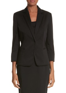Max Mara Zambra Stretch Cotton Blazer