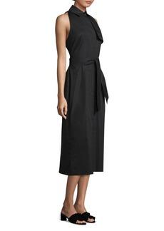 Max Mara Zefir Sleeveless Shirt Dress
