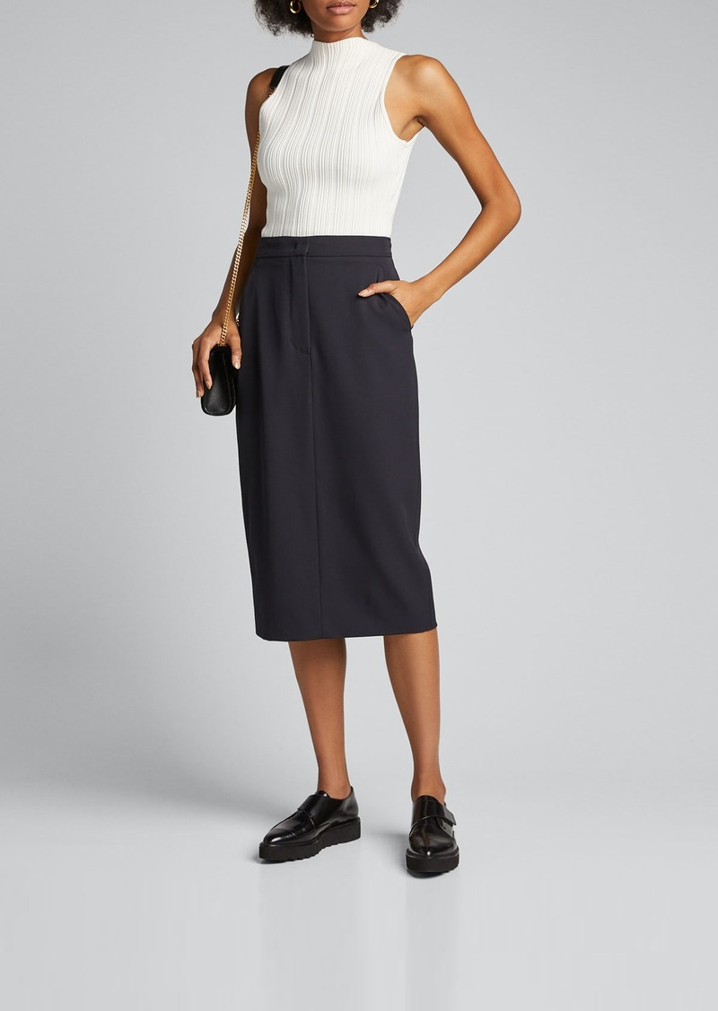 Max Mara Maxmara Frais Wool Pencil Skirt