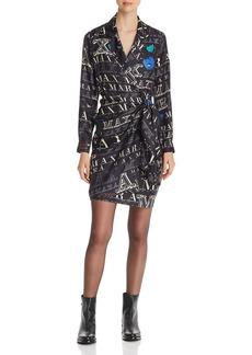 Max Mara MaxMara Zac Silk Wrap Dress