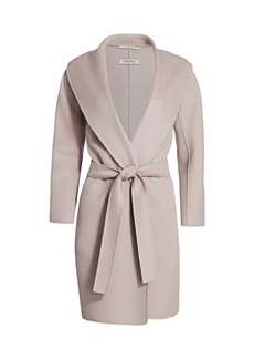 Max Mara Messi Belted Wool Coat