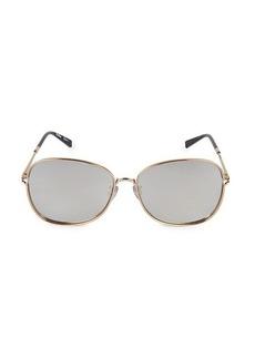 Max Mara MM WIRE II 60MM Round Sunglasses