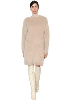 Max Mara Mohair & Wool Blend Knit Dress