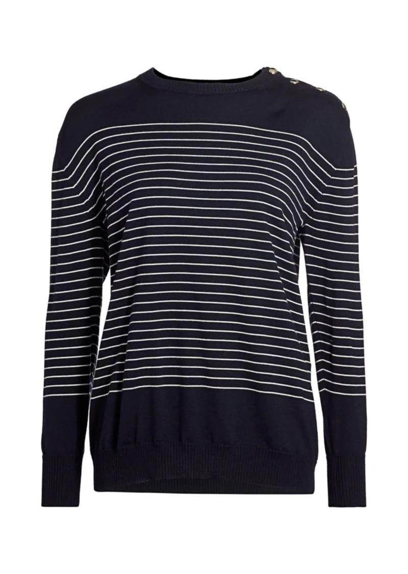 Max Mara Navona Nautical Stripe Sweater