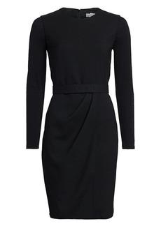 Max Mara Olona Long-Sleeve Ponte Sheath Dress