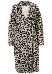 Max mara oversized leopard print coat abvcad937f4 a