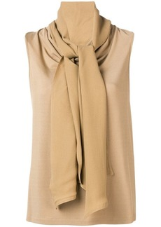 Max Mara oversized neck top