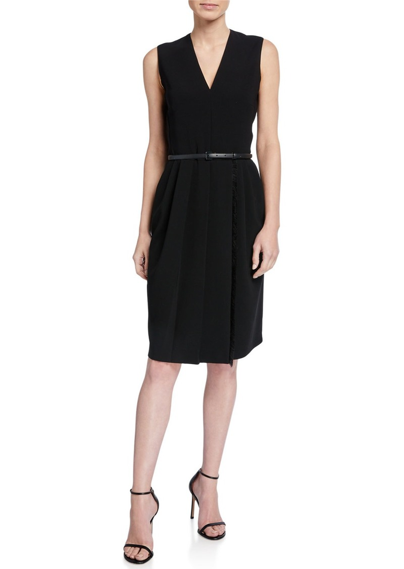 Max Mara Pedale Cady Dress