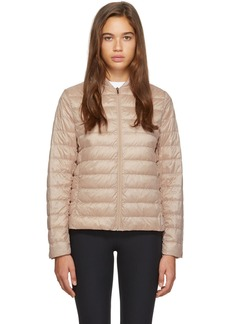 Max Mara Pink Down Sumatra Jacket