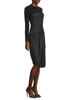Pinstripe Bodice Dress