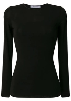 Max Mara Plava long-sleeved top