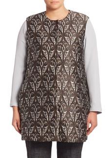 Max Mara Plus Genio Paisley Jacquard Vest