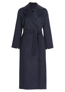 Max Mara Poldo Wool Belted Coat
