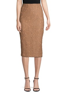 Max Mara Ragione Lace Pencil Skirt