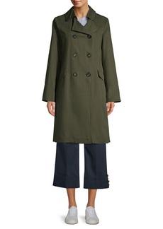 Max Mara Rennes Cotton Linen Coat