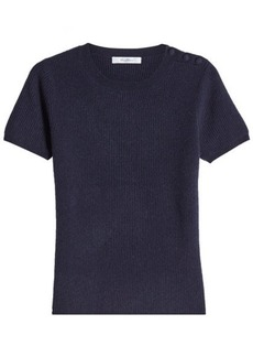 Max Mara Ribbed Cashmere Top