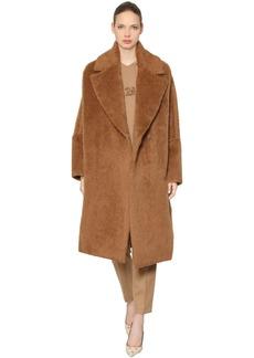 Max Mara Sarnico Atelier Furry Alpaca Coat