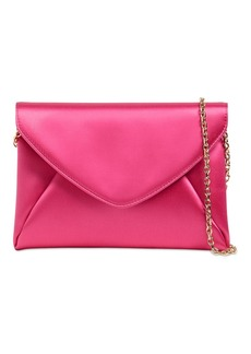 Max Mara Satin Envelope Clutch