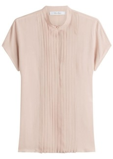 Max Mara Short Sleeved Silk Blouse