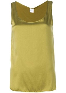 Max Mara silk tank top